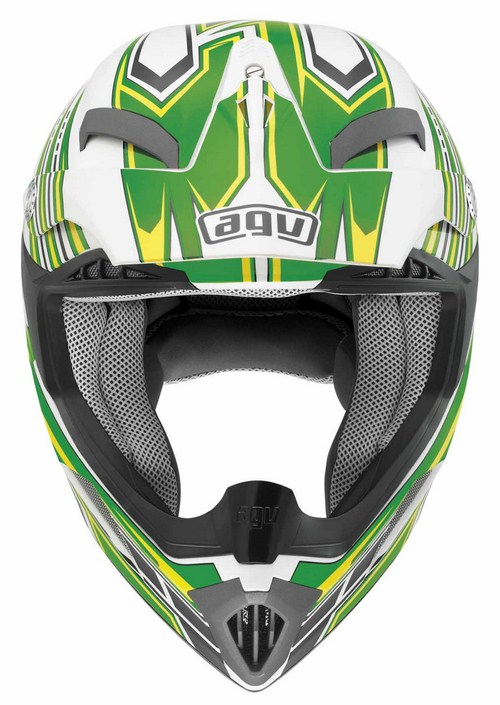 Agv MT-X Multi Point enduro helmet white-green