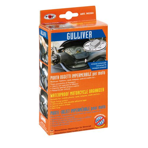 Gulliver, waterproof motorcycle case