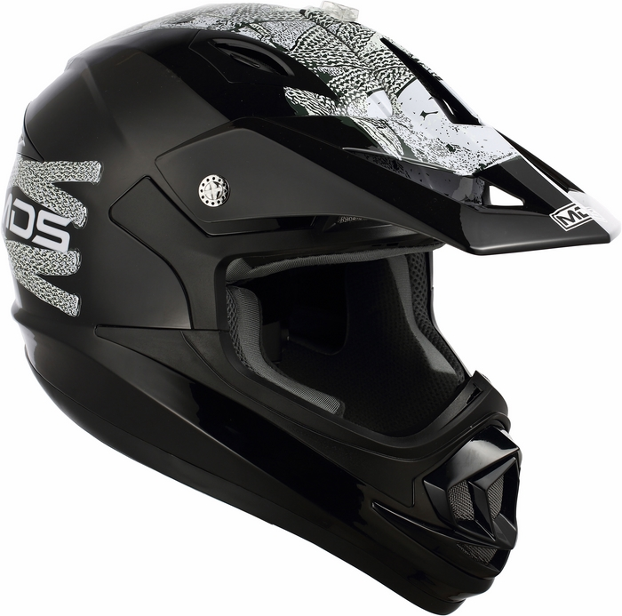 Mds by Agv ONOFF Multi Lace Up helmet black