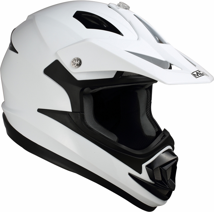 Mds by Agv ONOFF Mono helmet white