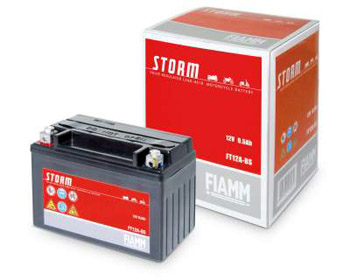 Fiamm battery 6B3PS, Size 137x76x134 polarity DX