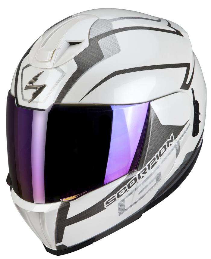 Modular Helmet Scorpion EXO 910 GT White