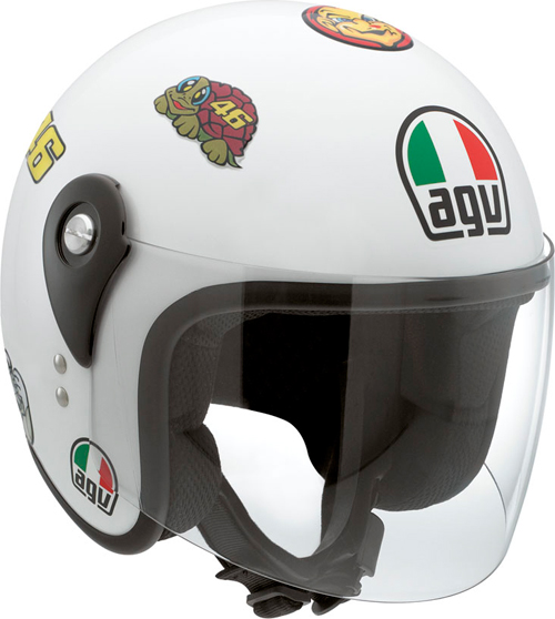 Agv Junior Open Top Vale Symbols kid helmet with stickers