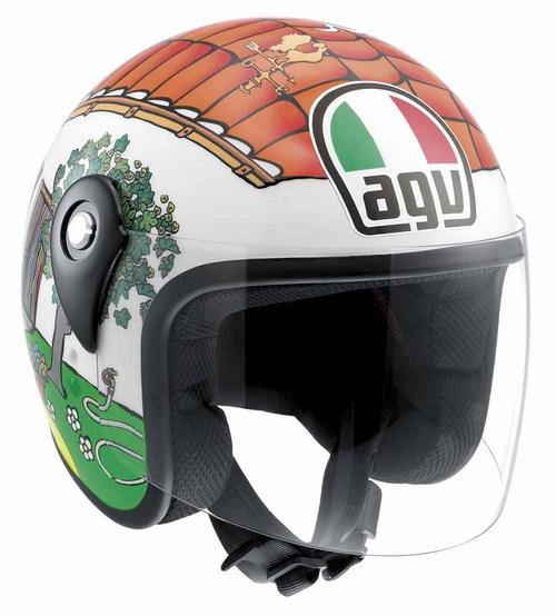 Casco moto bambino Agv Junior Open Top Valentino's House