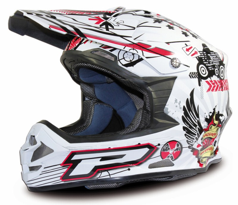 Casco cross Progrip Tricomposito Dollar