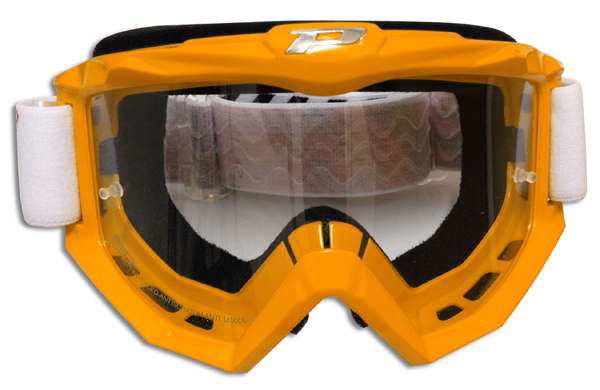 Goggles Progrip cross Race Orange line