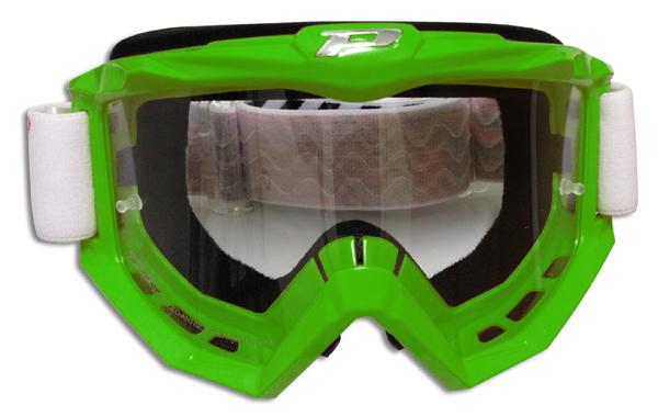 Occhiali cross Progrip Race line Verde