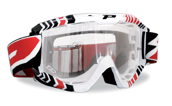 Stealth Goggles Progrip Red Cross
