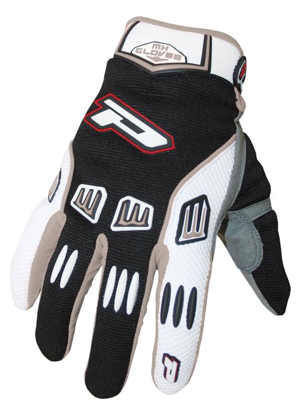 Gloves cross baby Progrip Black Grey