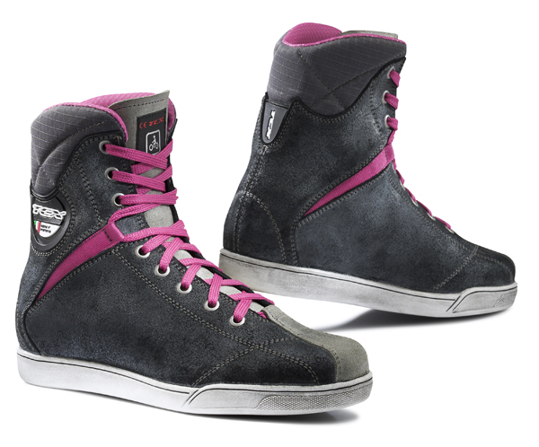 Scarpe moto donna TCX X-Rap Lady Waterproof Fucsia