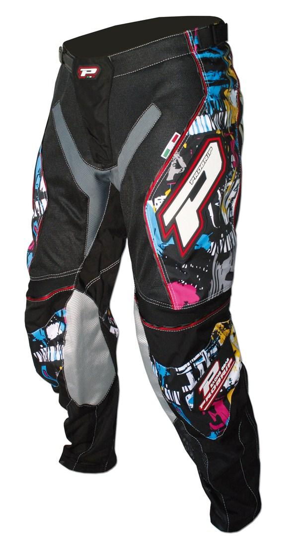 Pantaloni cross bambino Progrip Multicolor