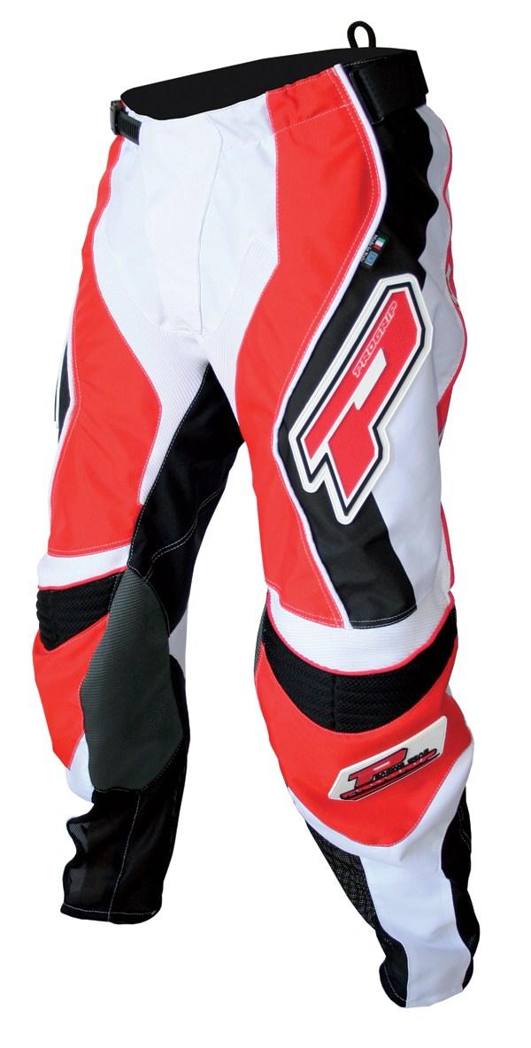 Pants cross Progrip Race Red Line