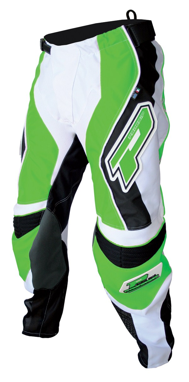 Pants cross Progrip Race Green Line