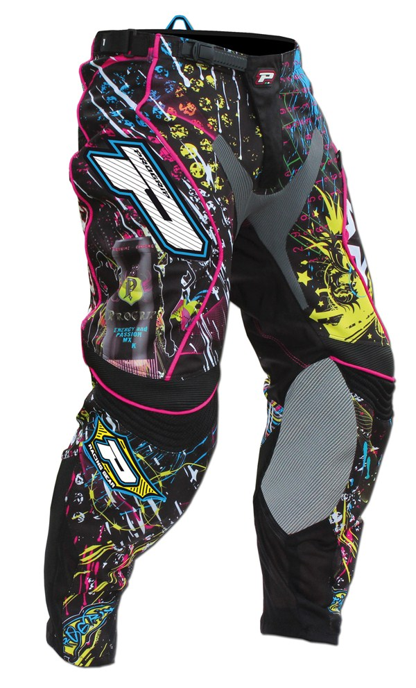 Pants cross Progrip Multicolor Graphic