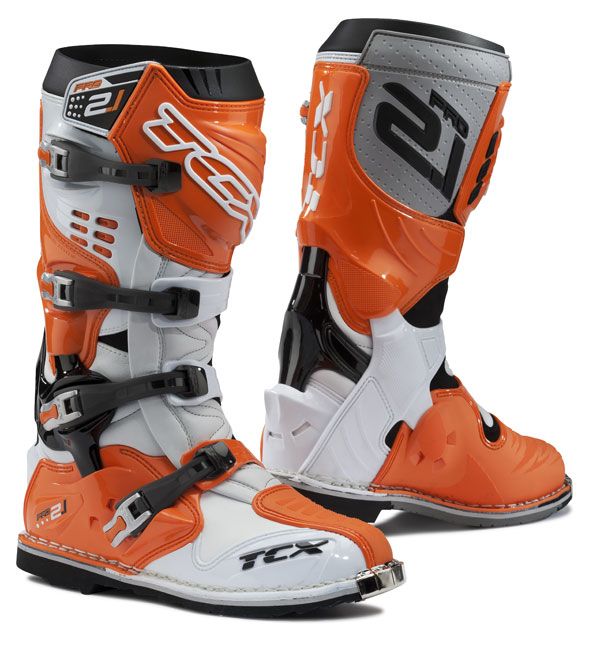 TCX off road boots Pro 2.1 White Orange
