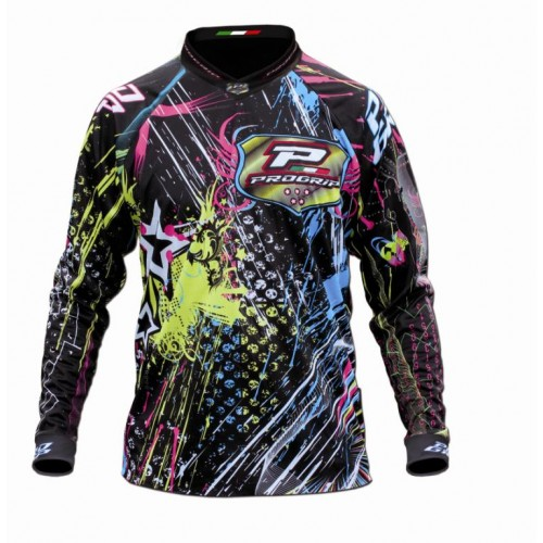 Maglia cross Progrip Graphic Multicolor