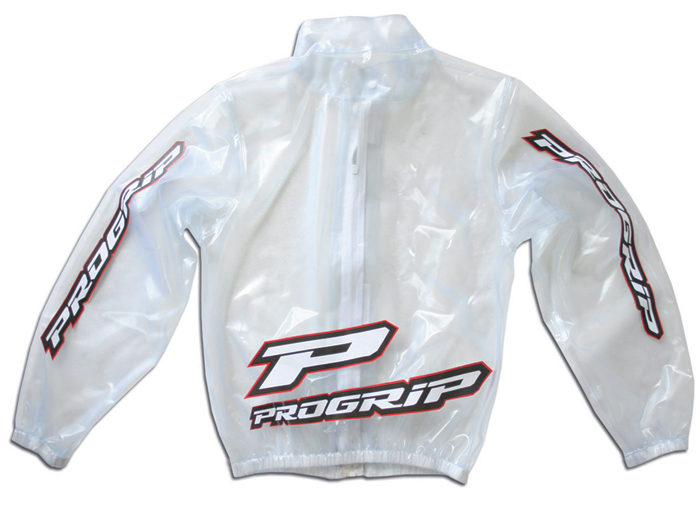 Transparent waterproof kid jacket Progrip