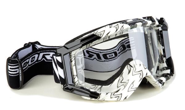 Eyeglasses cross White Black Scorpion