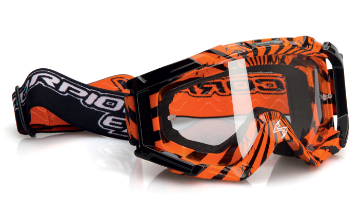 Glasses cross Scorpion Orange Black