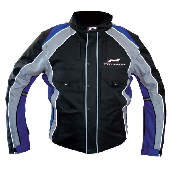 Cross Progrip Enduro Jacket Black Blue