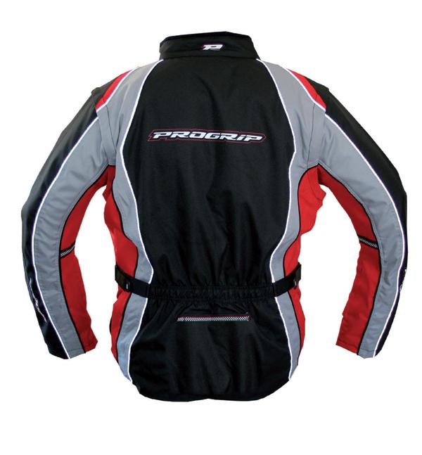 Cross Progrip Enduro Jacket Black Red