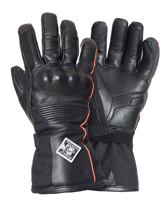 Tucano Urbano Road leather gloves Black