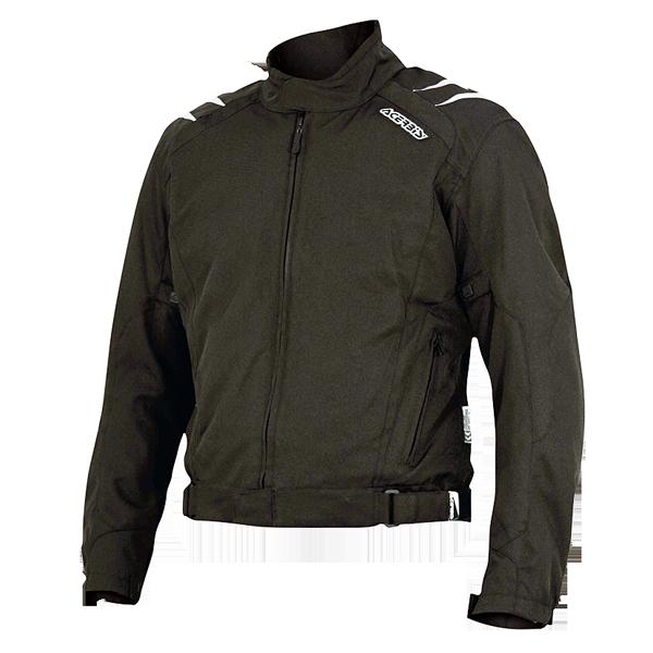 Tulsa motorcycle jacket Acerbis Korp Black