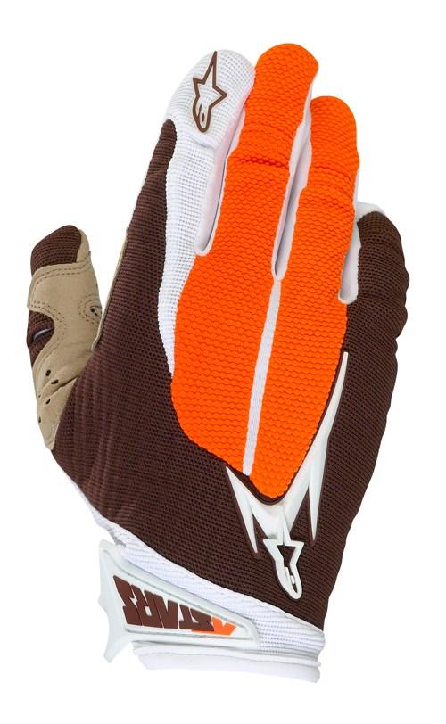 Alpinestars Aero enduro gloves orange