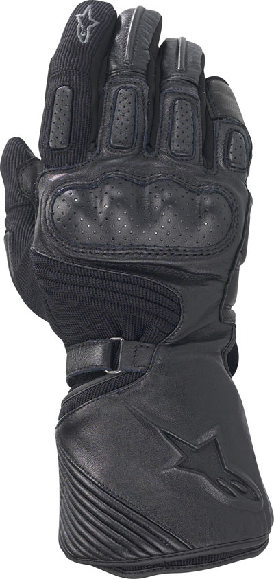Alpinestars Apex Drystar textile-leather gloves black