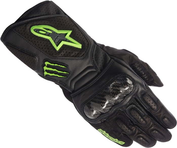 Gloves Alpinestars SP-M2 Black Green Monster