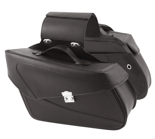 A-PRO Phoenix Custom Leather Saddle-Bags