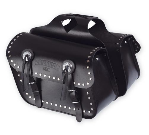 A-PRO Sport Custom Leather Saddle-Bags