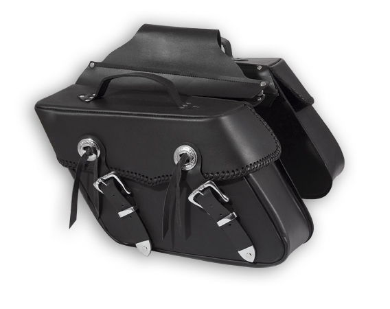 A-PRO Texas Custom Leather Saddle-Bags