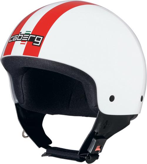Caberg Cruiser Legend demi-jet helmet white-red