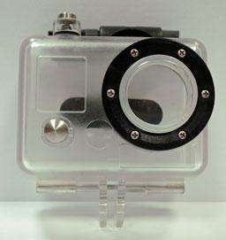 Omer Underwater Case for Video Camera GoPro Hero