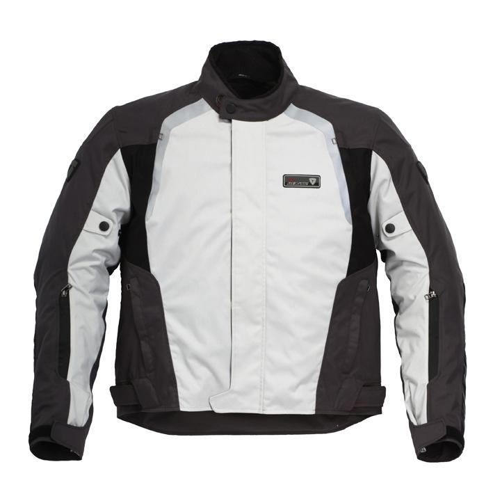 REV'IT! Strada H2O Motorcycle Jacket - Col. Grey-Black