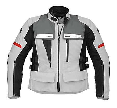 REV'IT! Sand Jacket - Col. Silver Grey/Black