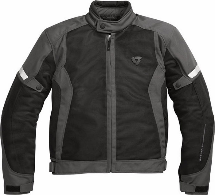 Rev'it airwave summer motorcycle jacket amthracite-black