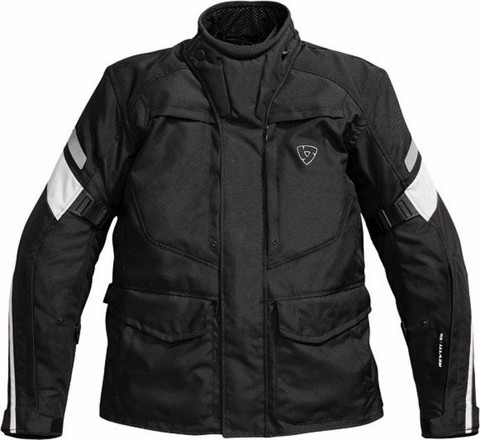 Rev'it Spectrum motorcycle jacket black-silver