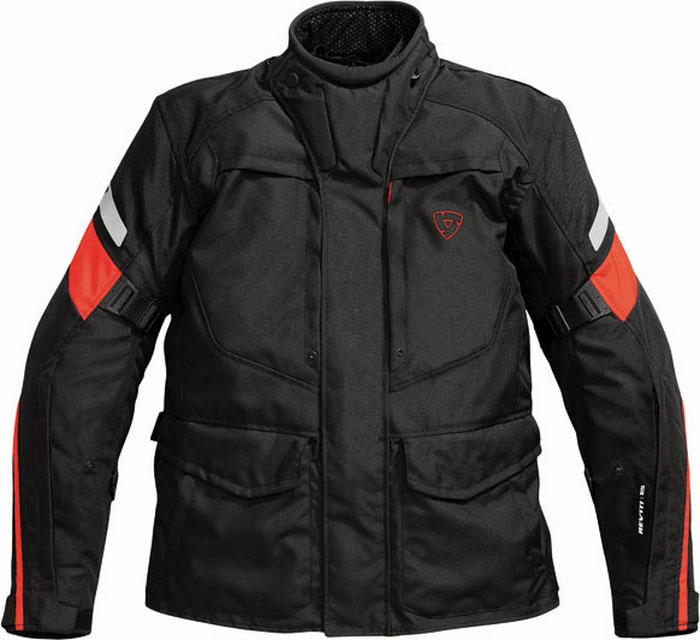 Rev'it Spectrum motorcycle jacket black-red
