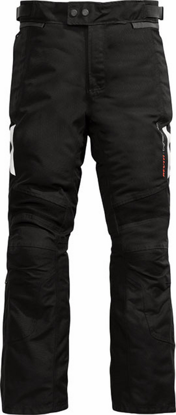 Pantaloni moto Rev'it Horizon neri allungato