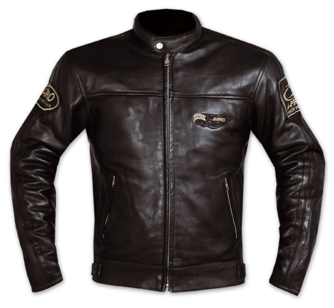 A-PRO Silverstone Custom Leather Jacket - Col. Black