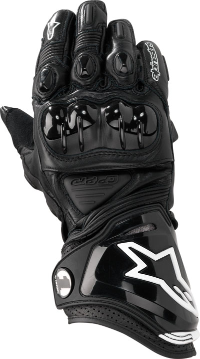 ALPINESTARS GP-PRO leather gloves col. black