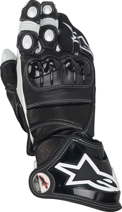 Alpinestars Gp Tech leather gloves black-white