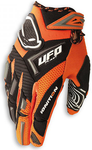 Guanti moto Ufo Plast Ignition arancio