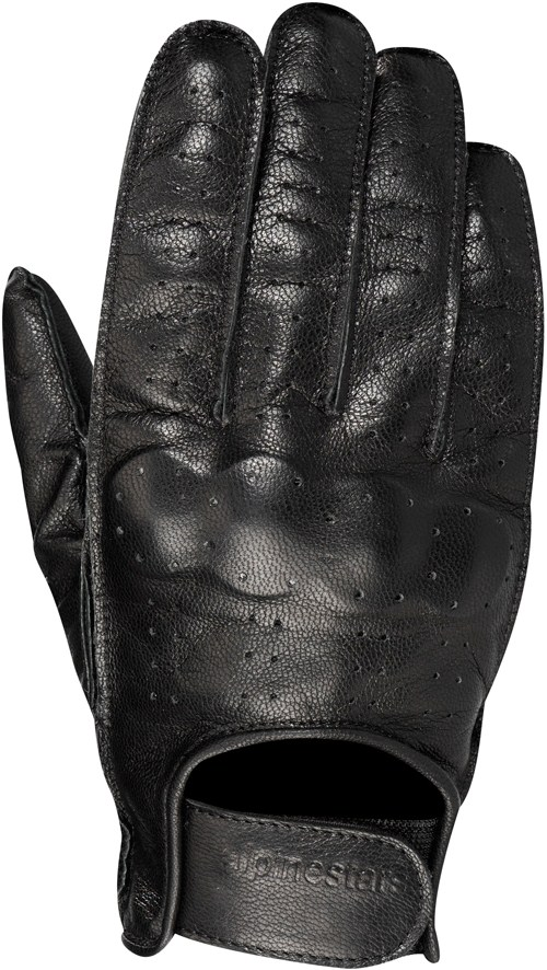 Guanti moto Alpinestars Hero Leather neri 3502011