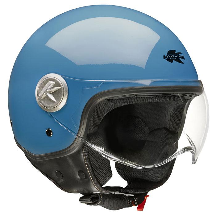 Jet Helmet Blue Kappa KV20