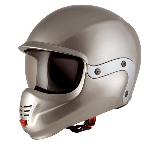 Suomy 3LOGY chin guard silver