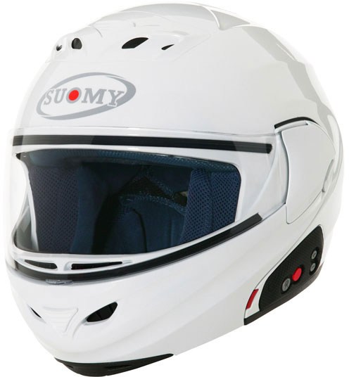 SUOMY D20 + SCS Plain open-face helmet  white