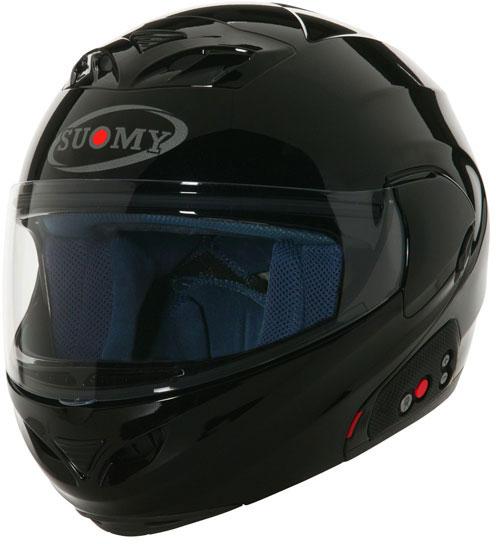 SUOMY D20 + SCS Plain open-face helmet  black